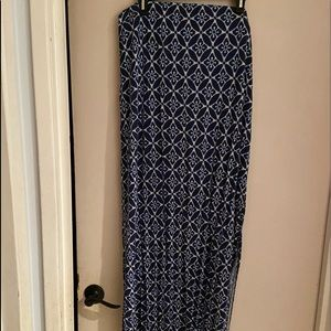 Old navy xl maci skirt w/slits to knees